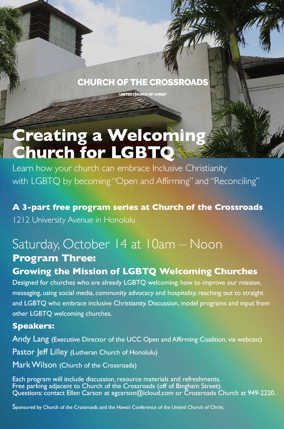 Creating a Welcoming Church for LGBTQ
