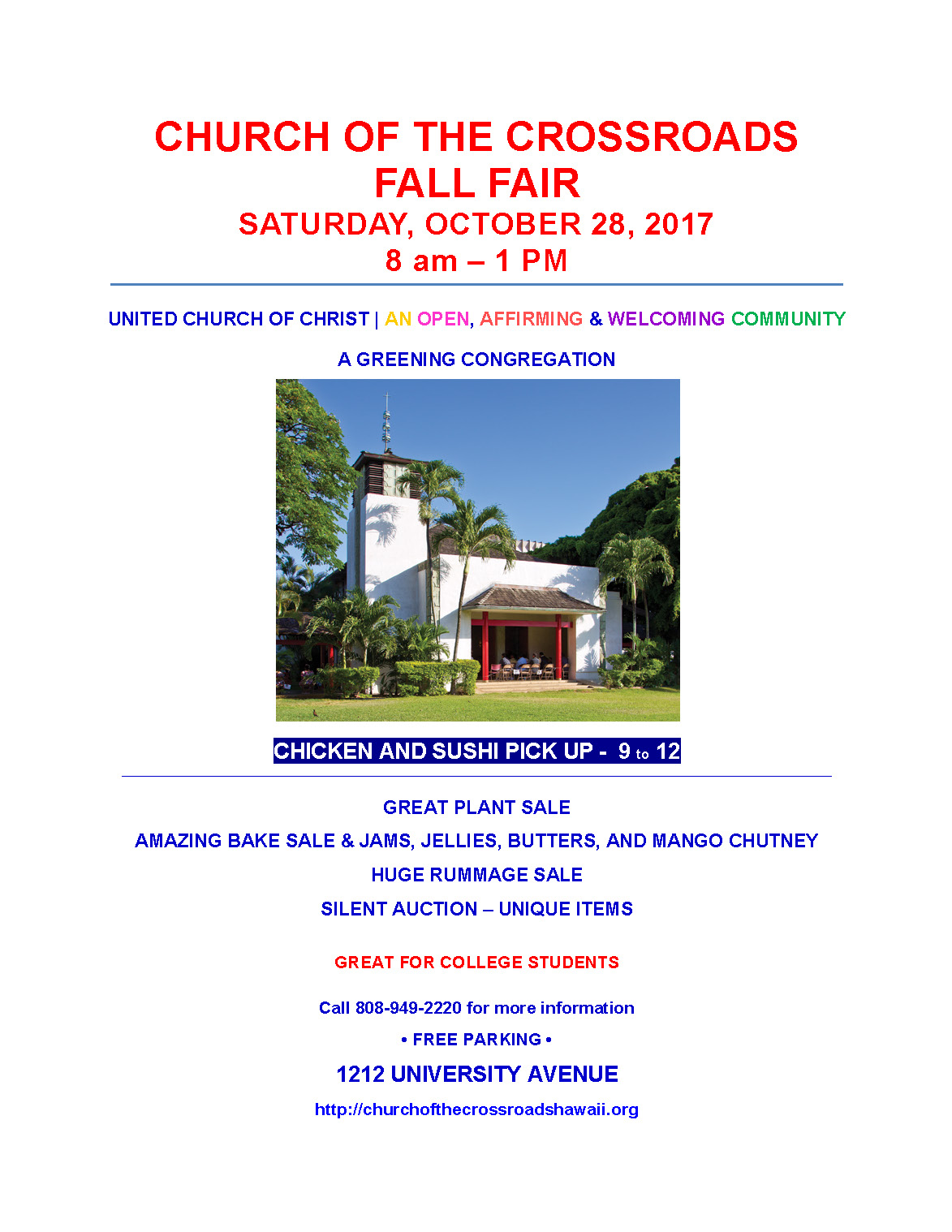 Crossroads Fall Fair Oct 28, 2017