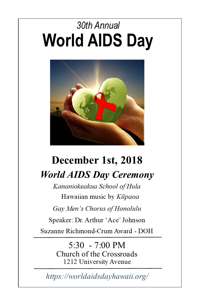 World AIDS Day Ceremony