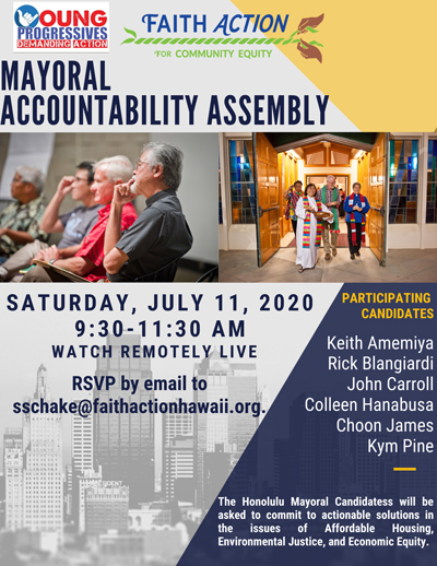 Mayoral Accountability Assembley July 11